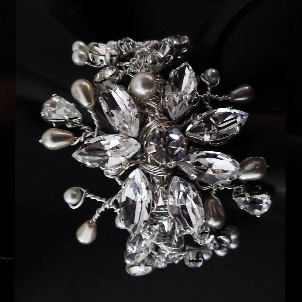 Flora Bridal Cuff