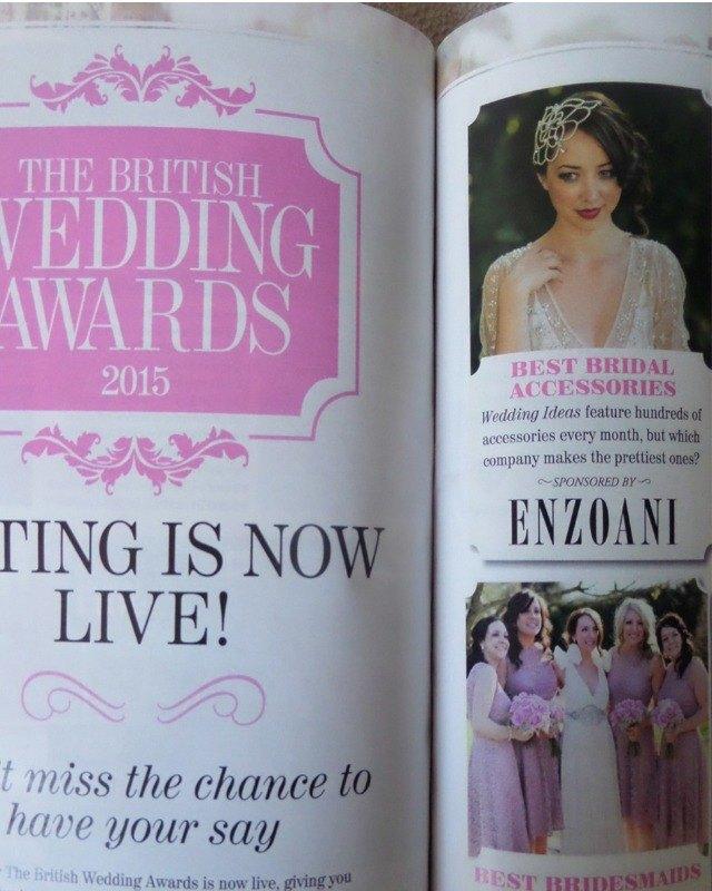 nancy in wedding ideas - awards section