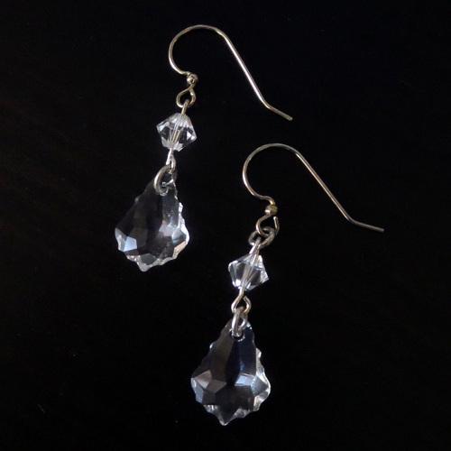 Lavinia Crystal Bridal Earrings