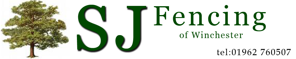 SJ Fencing of Winchester, site logo.