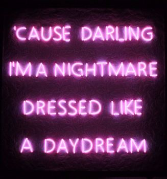 Taylor Swift Blank Space Lyrics Pink Neon