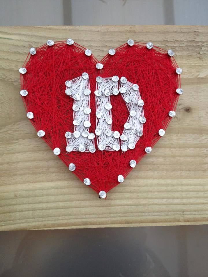 One Direction Thread Plaque