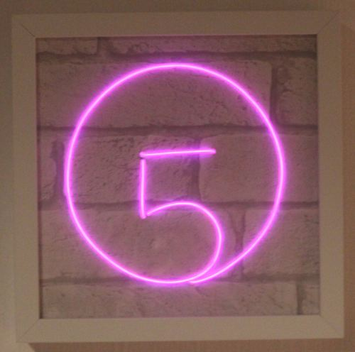 FIFTH HARMONY LOGO NEON SIGN