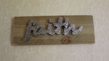"""faith"" Wall Plaque"