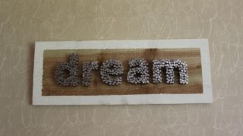 """dream"" Wall Plaque"