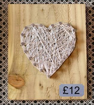 Sparkle Heart Wall Plaque