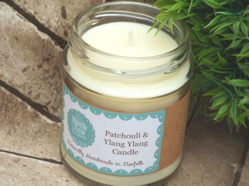 Patchouli & Ylang Ylang candle