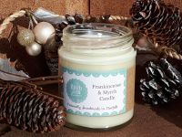 CHRISTMAS CANDLE Frankincense & Myrrh