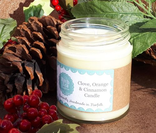Clove, Orange & Cinnamon candle