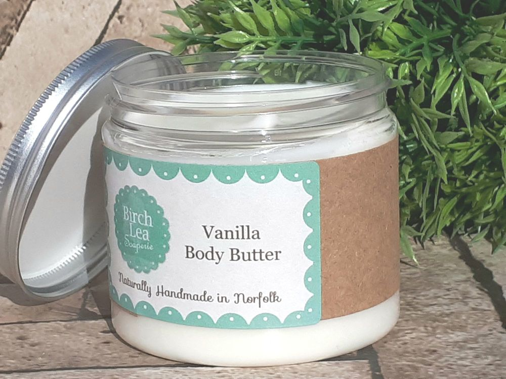 Vanilla body butter large jar