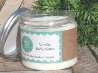Vanilla body butter large jar