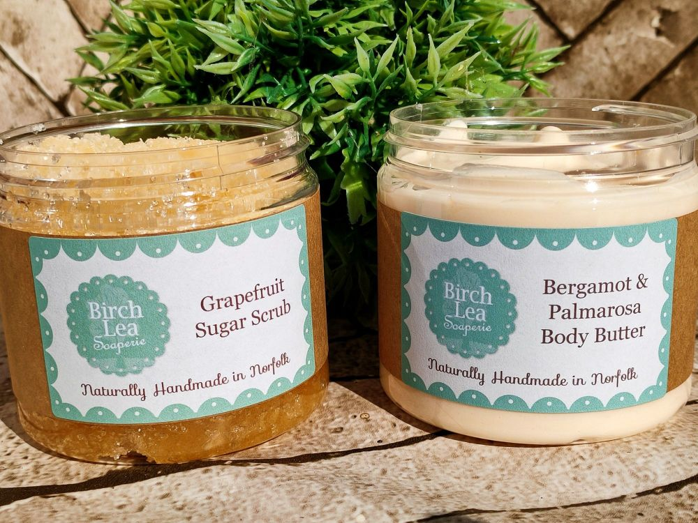 Body butter and scrub