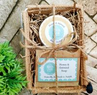 Soap and body butter gift set
