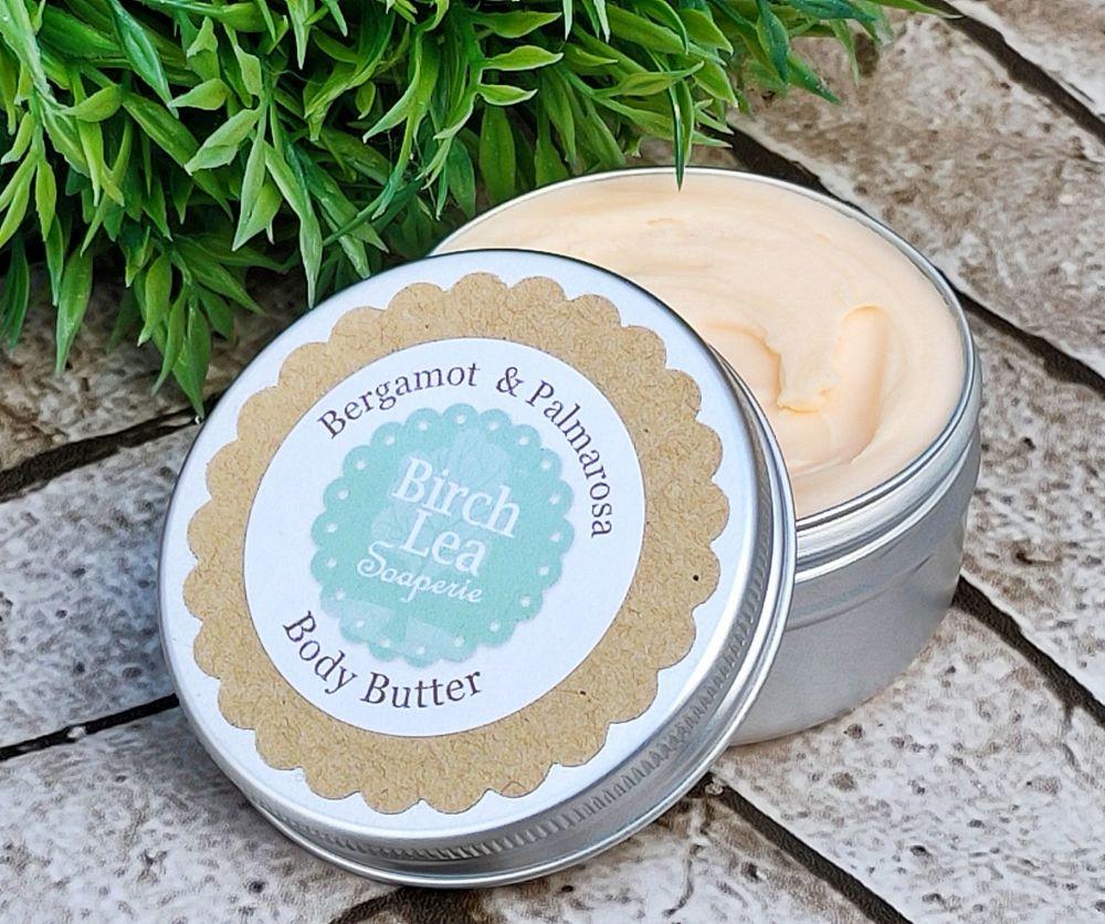 Bergamot & Palmarosa Body Butter