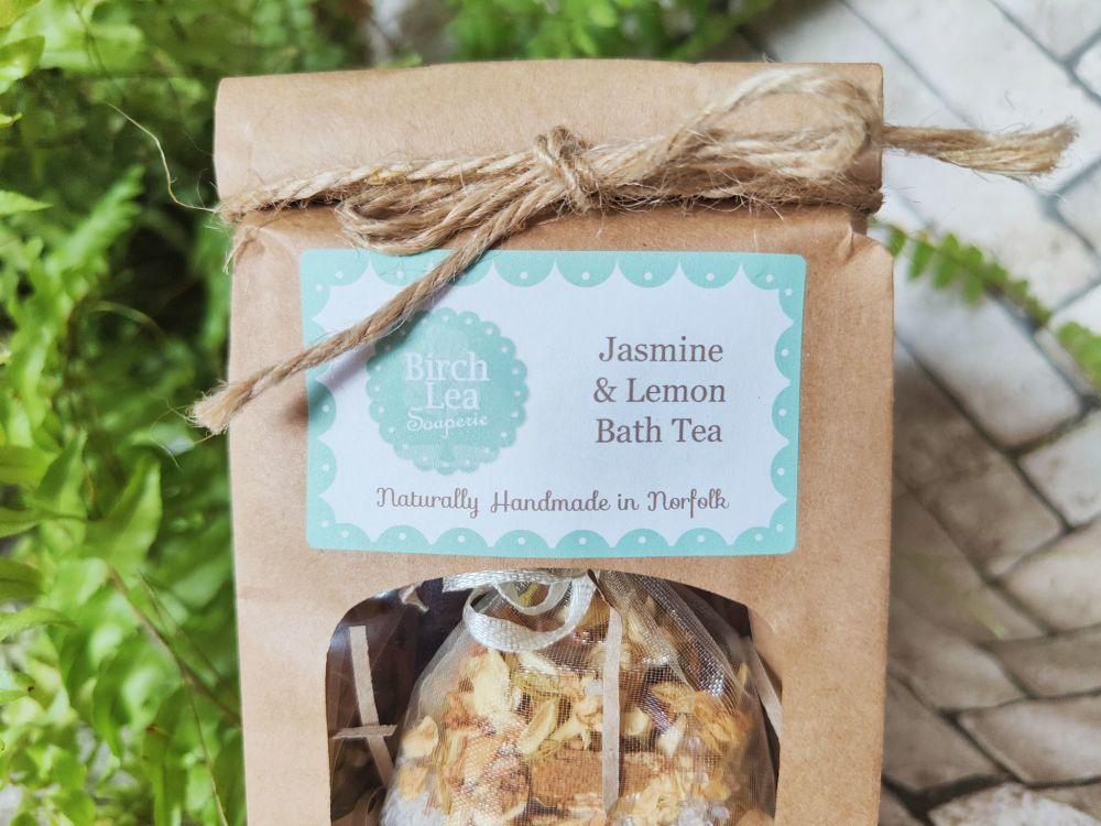 Jasmine & Lemon Bath Tea