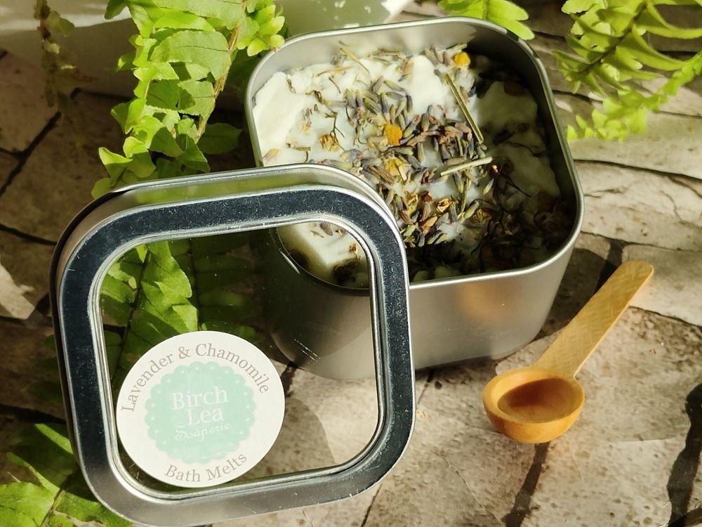 Lavender & Chamomile Bath Melts