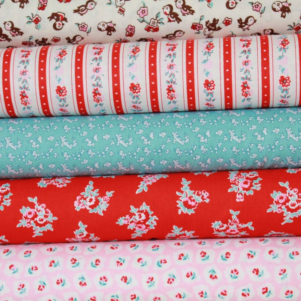 Milk, Sugar and Flower Penny Rose Fabrics