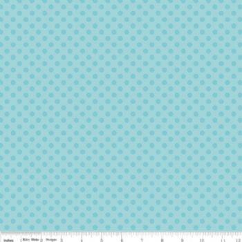Dots Aqua Riley Blake Designs