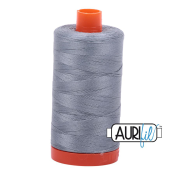 Aurifil 50w Cotton 1300 Metre Spool Dark Grey 2610