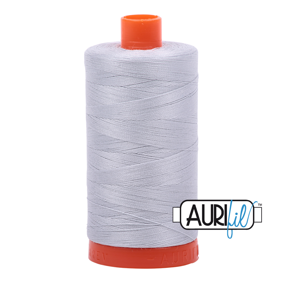 Aurifil 50w 1300 metre spool Light Grey 2600