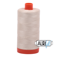 Aurifil 50w Cotton 1300 Metre Spool Light Beige 2310