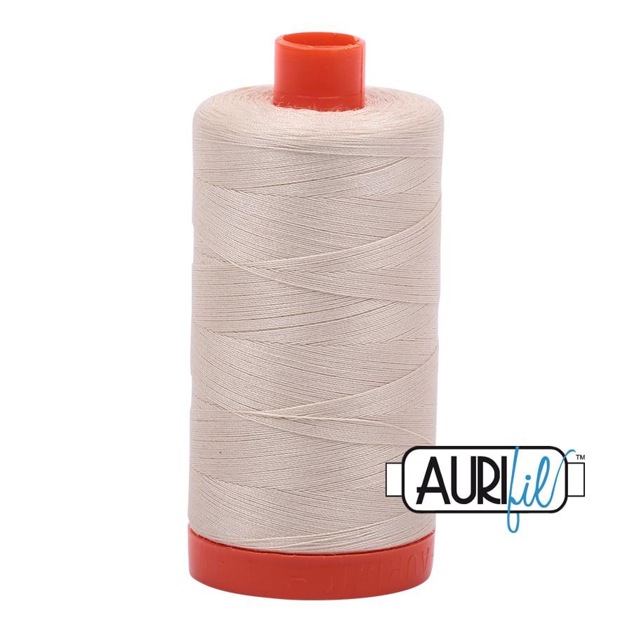 Aurifil 50w cotton 1300 metre Light Beige 2310