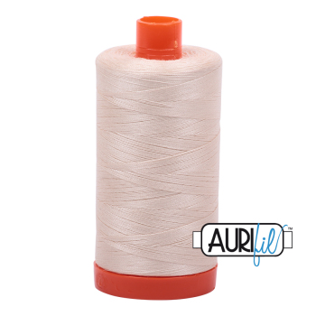 Aurifil 50w Cotton ~ 1300m ~ 2000  ~ Light Sand