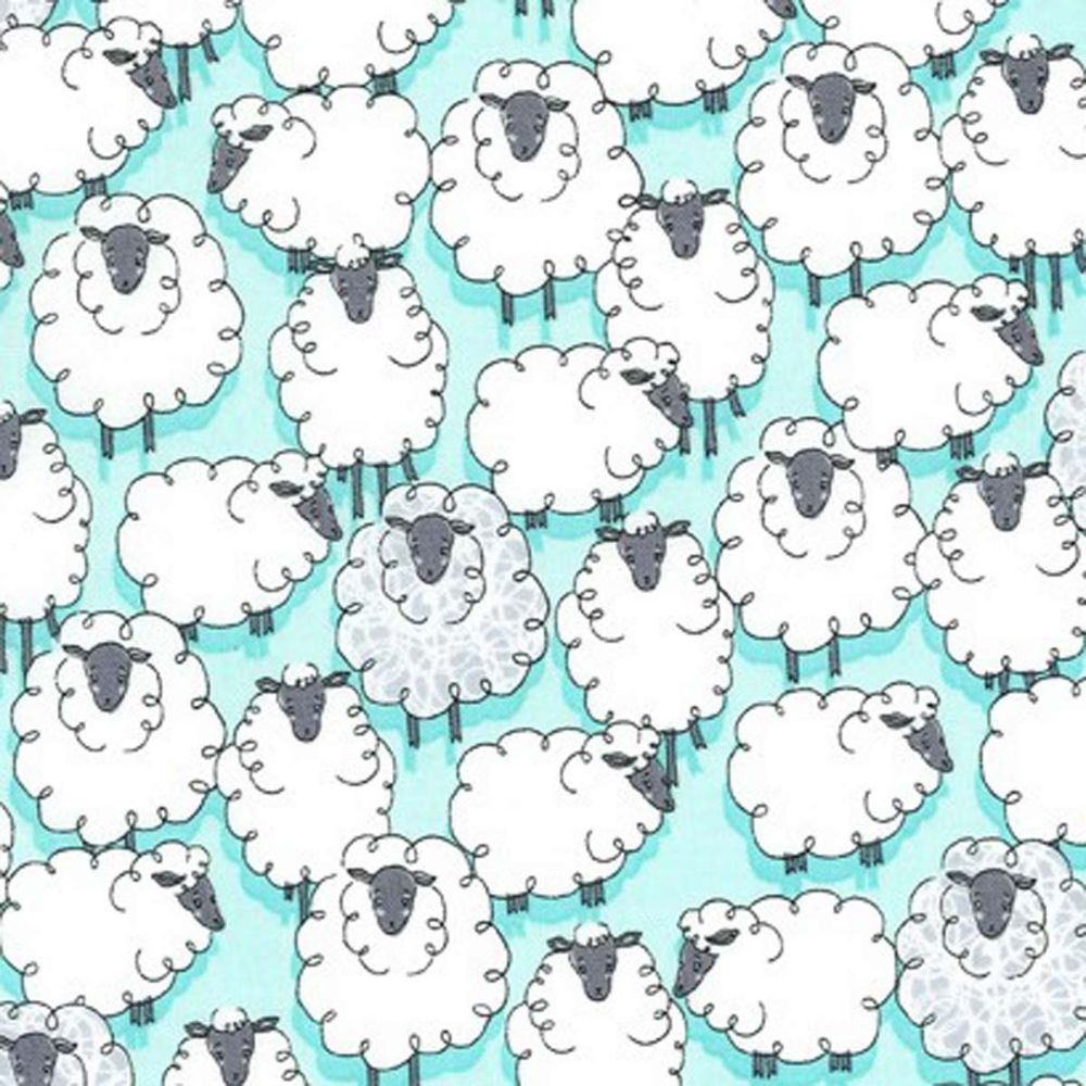 Eyes on Ewe Michael Miller Fabrics