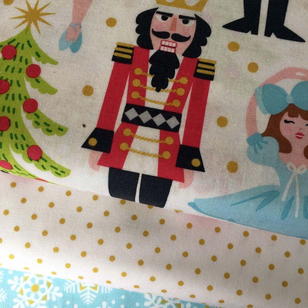 Snowflake Waltz Blend Fabrics