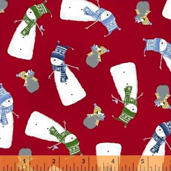 Santa's Little Helpers ~ Windham Fabrics ~Snowman
