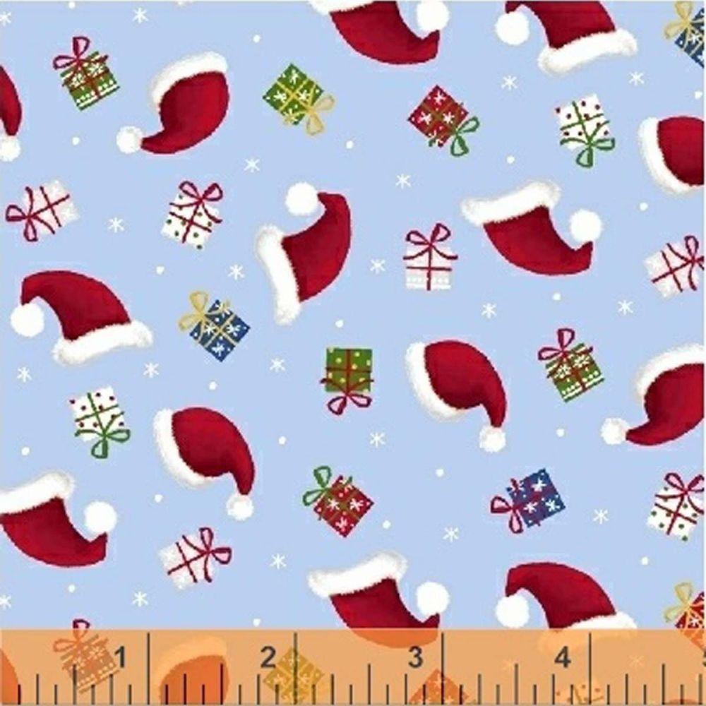 Santa's Little Helpers Santa Hats Windham Fabrics
