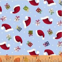 Santa's Little Helpers ~ Windham Fabrics ~ Santa Hats