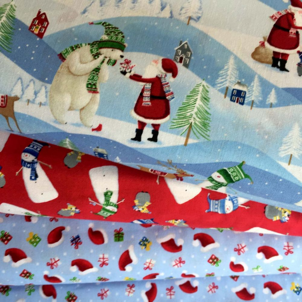 Santa's Little Helpers  ~ Windham Fabrics