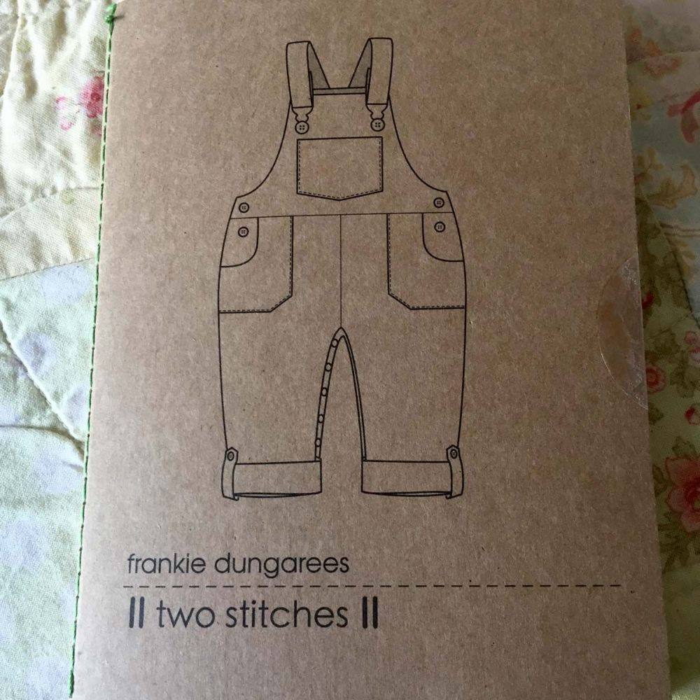 Two Stitches Frankie Dungarees
