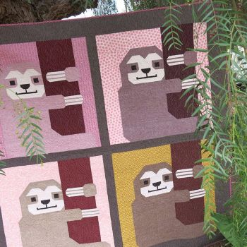 Sleepy Sloth Quilt Pattern by Elizabeth Hartman