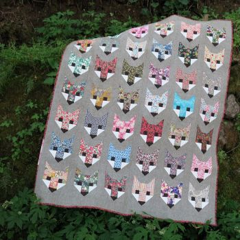 Fancy Fox Pattern by Elizabeth Hartman