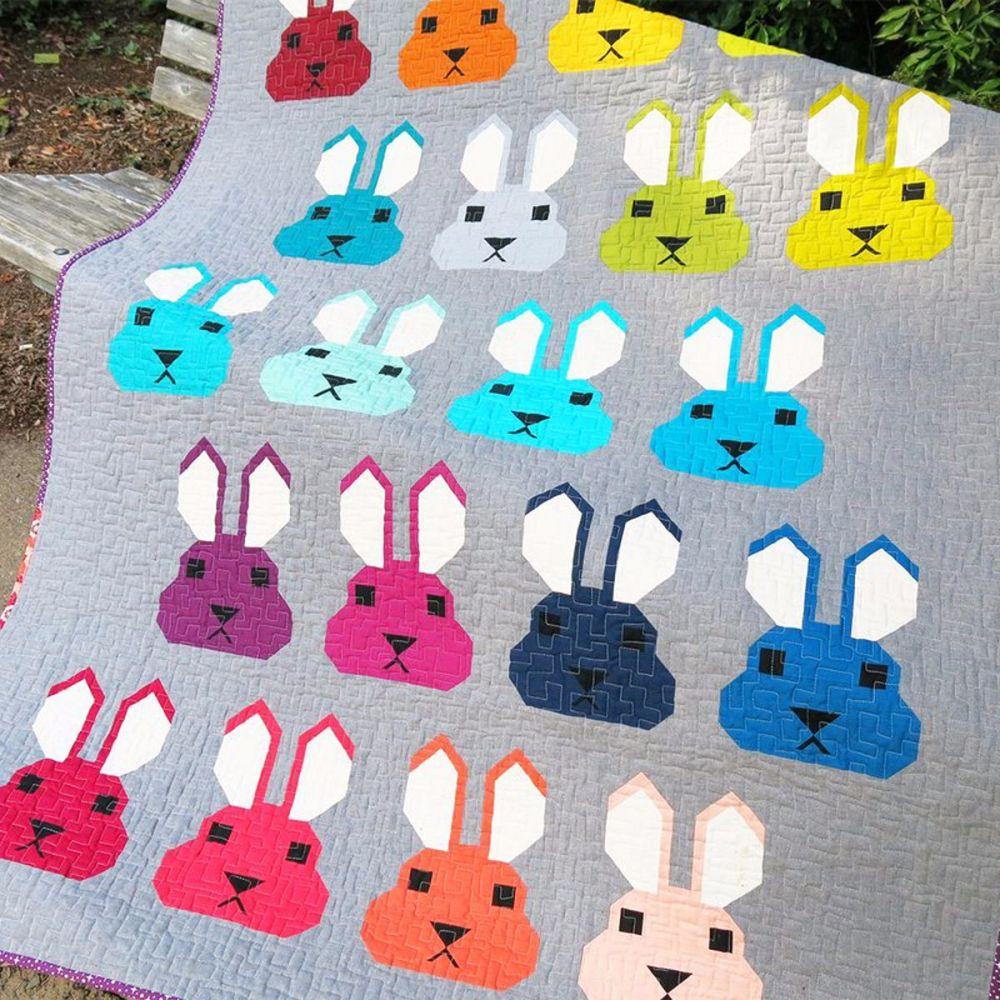 Bunny Pattern by Elizabeth Hartman