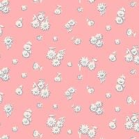 The English Garden by Liberty Tumbling Daisy X Pink