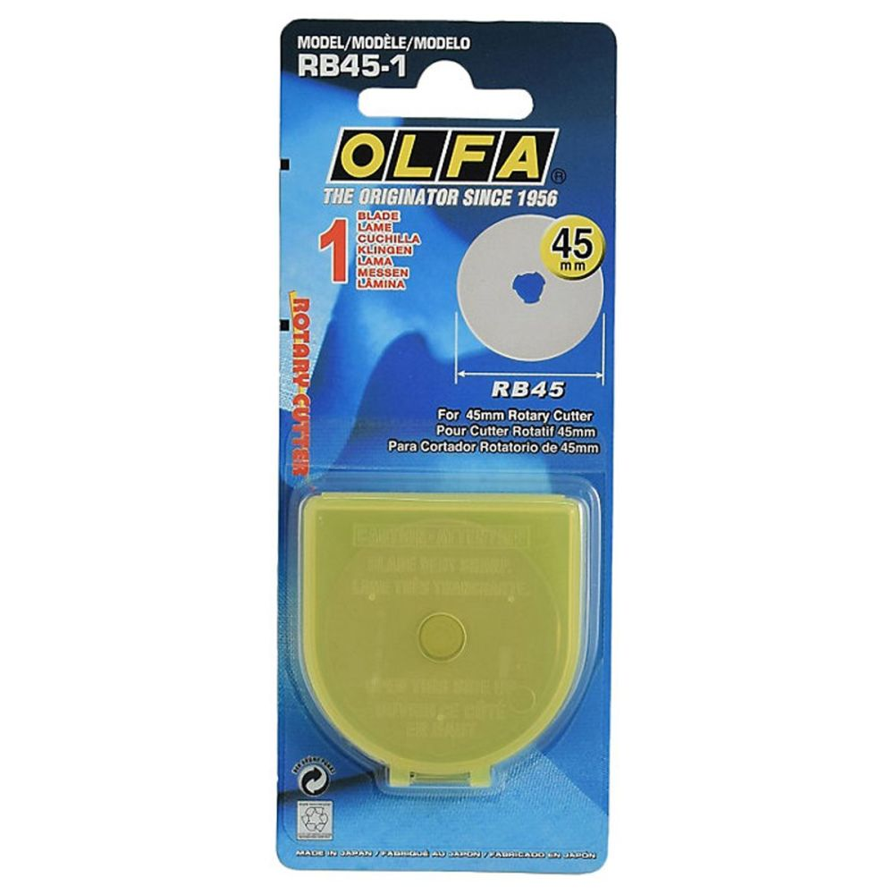 Blades for Olfa 45mm Rotary Cutter