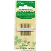Clover Gold Eye Quilting Needles Between No9