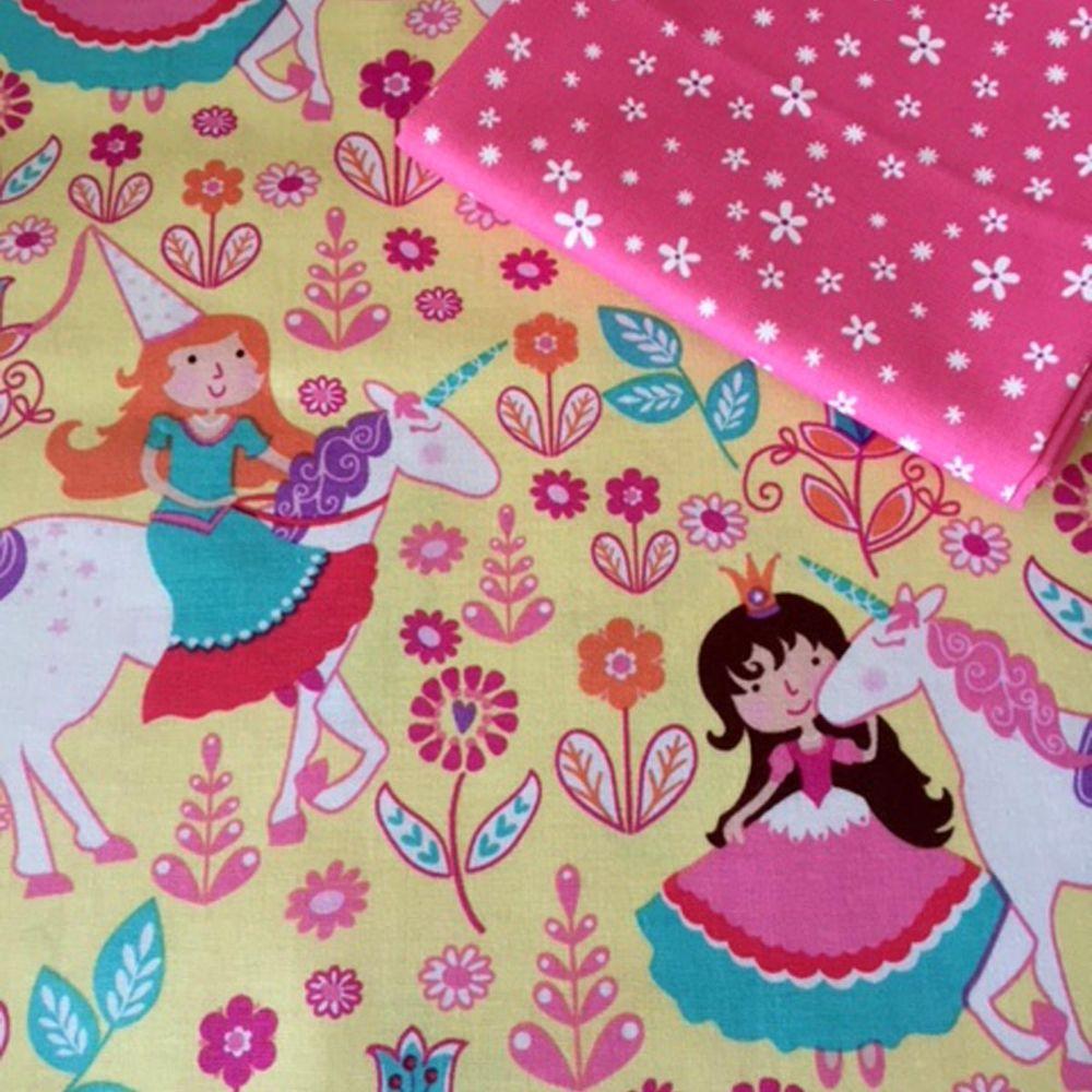Princess Blossoms Michael Miller Fabrics