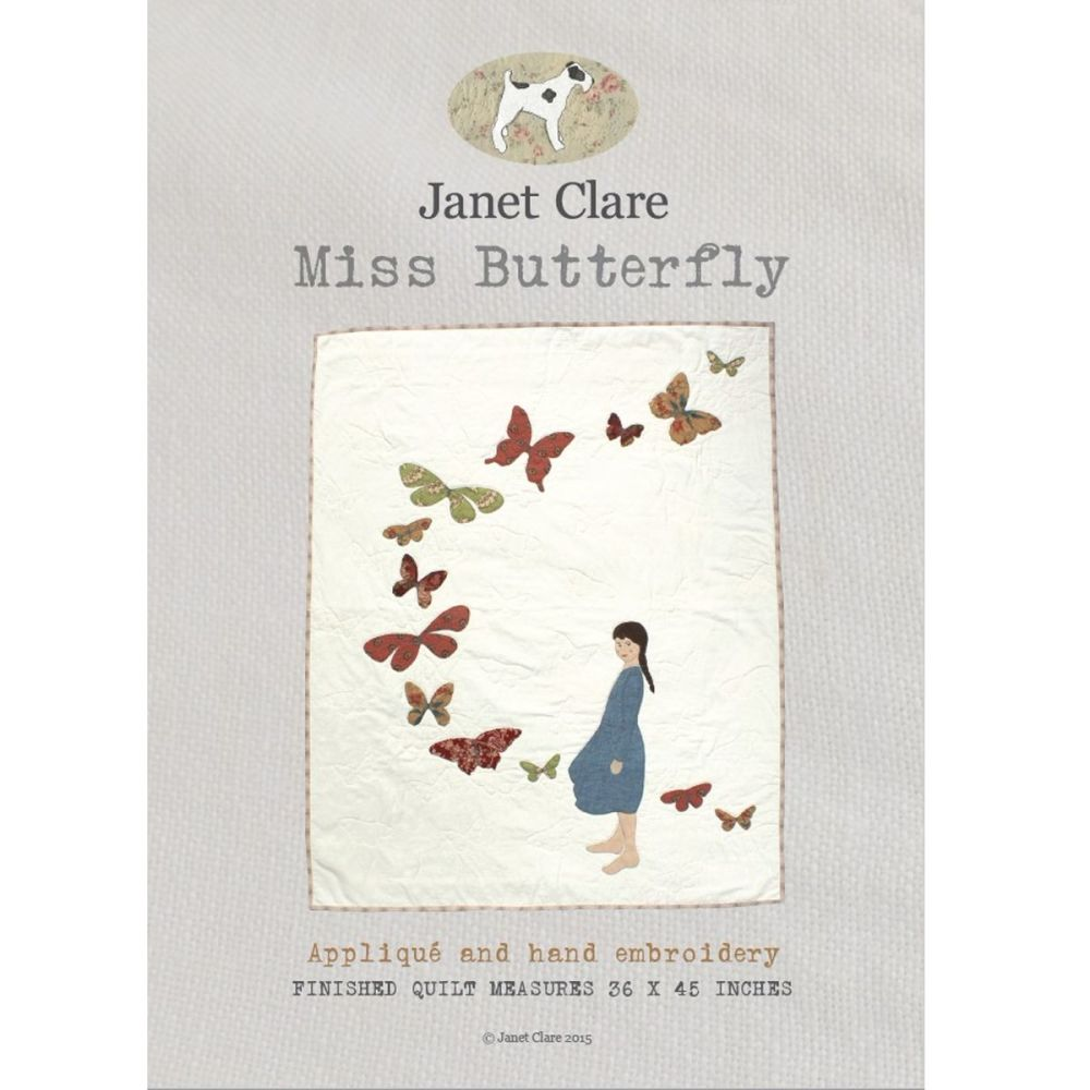 Janet Clare Miss Butterfly Pattern