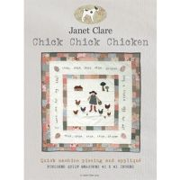 Janet Clare Chick Chick Chicken Pattern