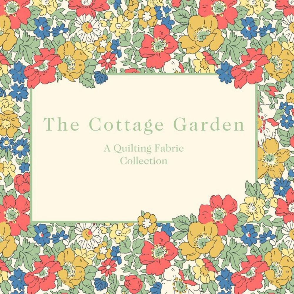 The Cottage Garden ~ Liberty