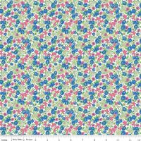 Mae Flowers by Penny Rose Fabrics Floral in Blue