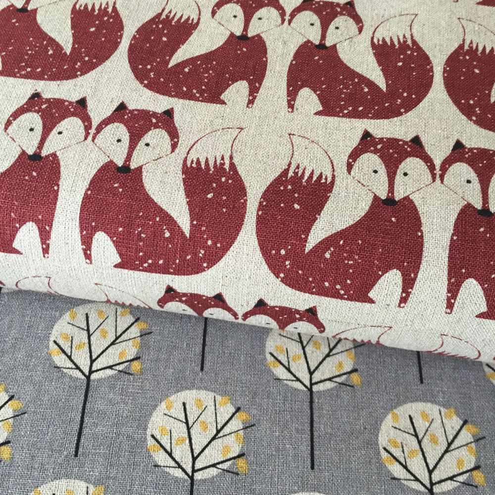 Chalk Hill ~ Dashwood Studio ~Linen/Cotton Blend