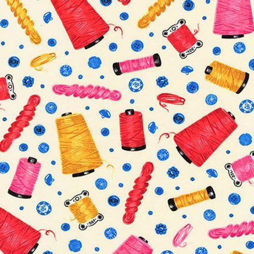 Sewn With Charm ~ Robert Kaufman ~ Threads