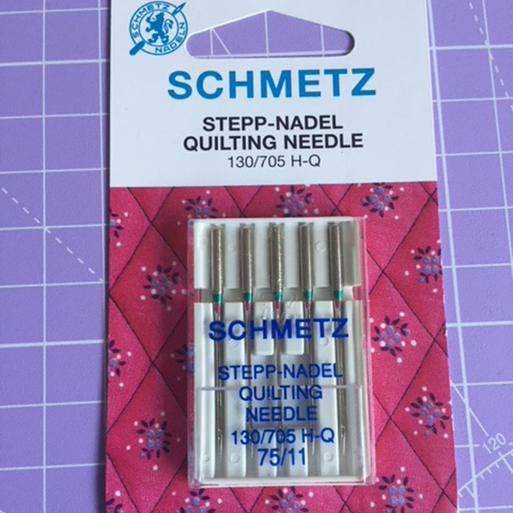 SchmetzSewing Machine Quilting Needles 130/705 5 needles in a pack 75/11