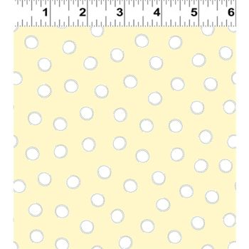 Guess How Much I Love You 2018 by Anita Jeram ~ Clothworks ~ Polka Dots in Lemon