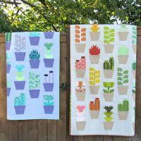 Greenhouse Quilt Pattern ~ Elizabeth Hartman